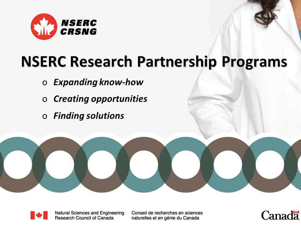 Collaborative R&D (CRD) Grants