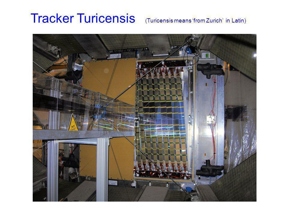 Tracker Turicensis (Turicensis means from Zurich in Latin) mur de plomb PRS, SPD