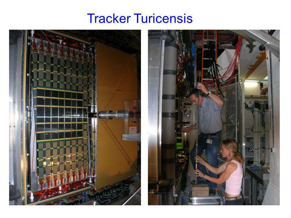 Tracker Turicensis mur de plomb PRS, SPD