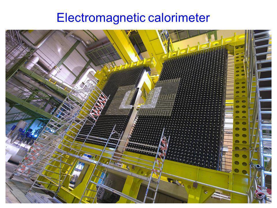 Electromagnetic calorimeter mur de plomb PRS, SPD