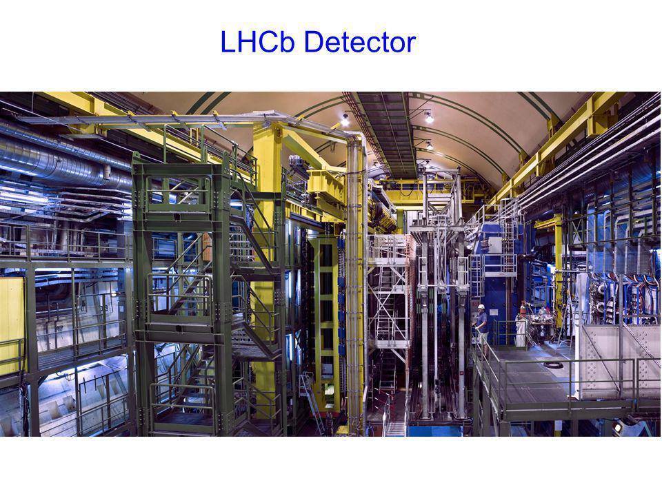 LHCb Detector mur de plomb PRS, SPD
