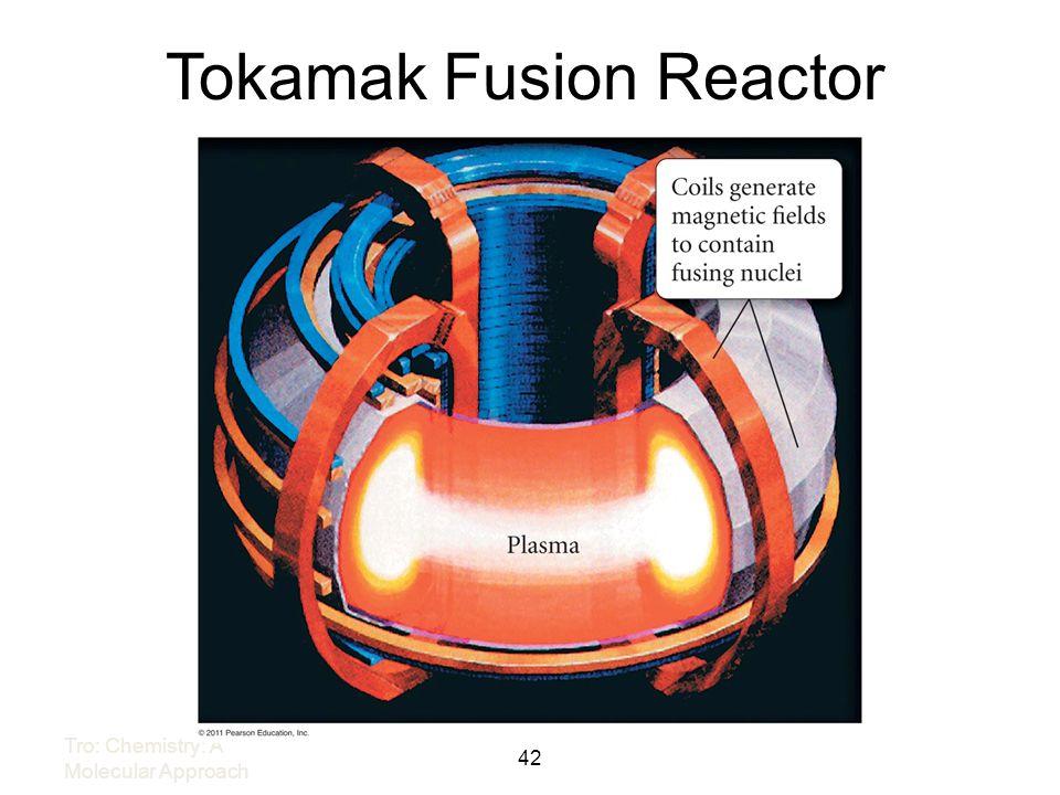Tokamak Fusion Reactor 42 Tro: Chemistry: A Molecular Approach