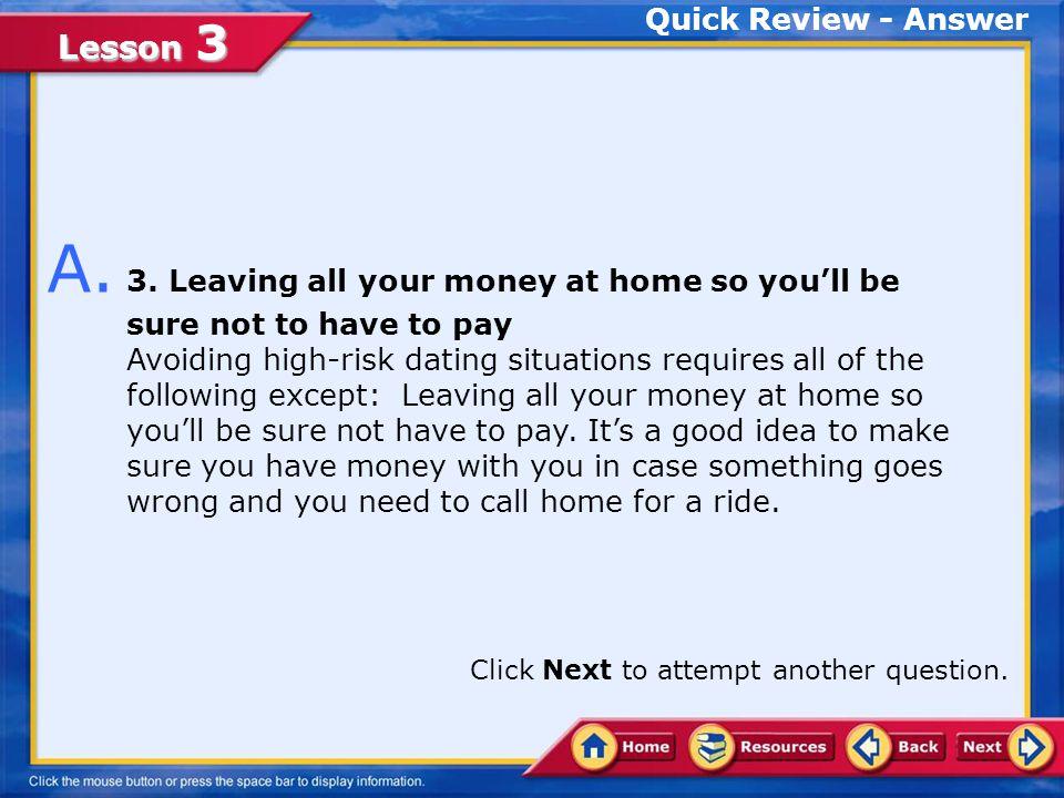 Lesson 3 Quick Review Q.
