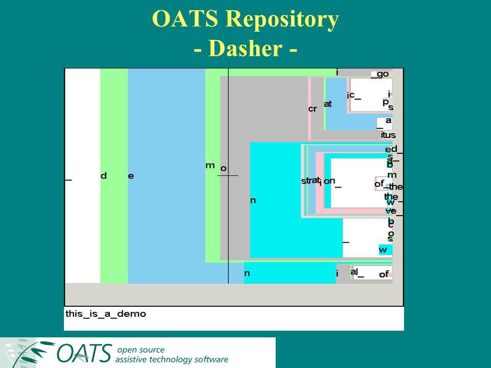 OATS Repository - Dasher -