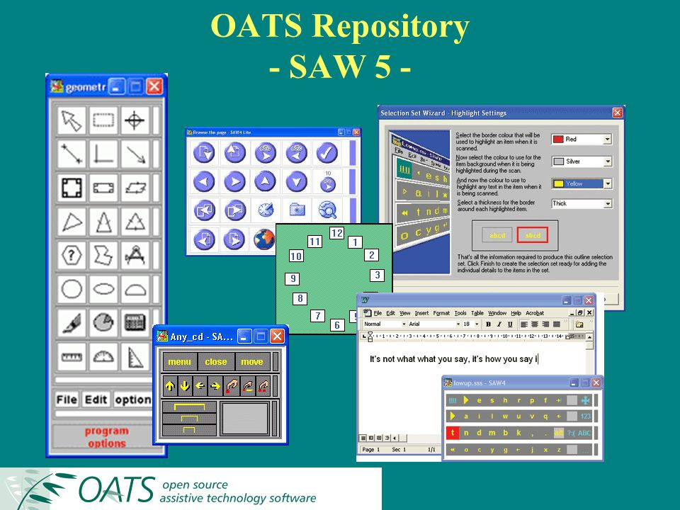 OATS Repository - SAW 5 -