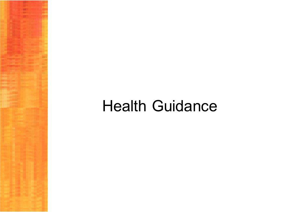 Health Guidance