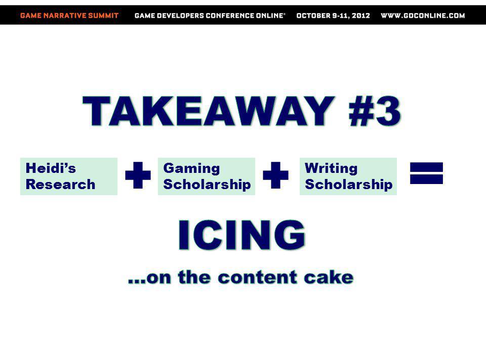Heidis Research Gaming Scholarship Writing Scholarship