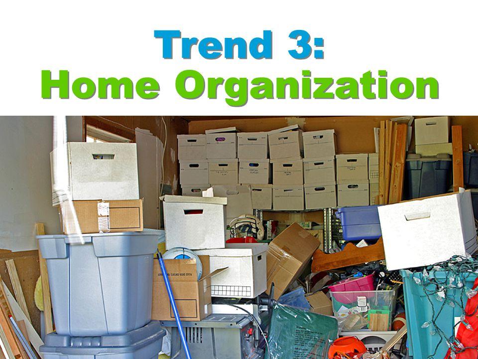 Trend 3: Home Organization