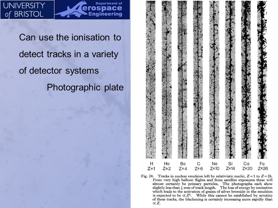 Partial stack of photographic emulsion/dielectric detector