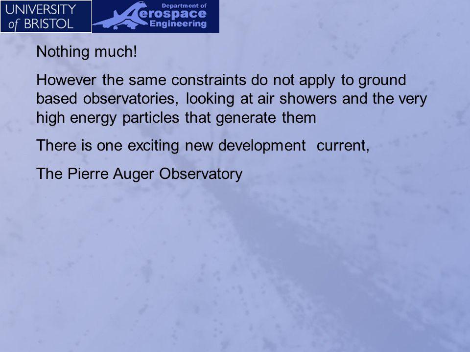 Paul Mantsch Auger Project Manger Building the Pierre Auger Observatory