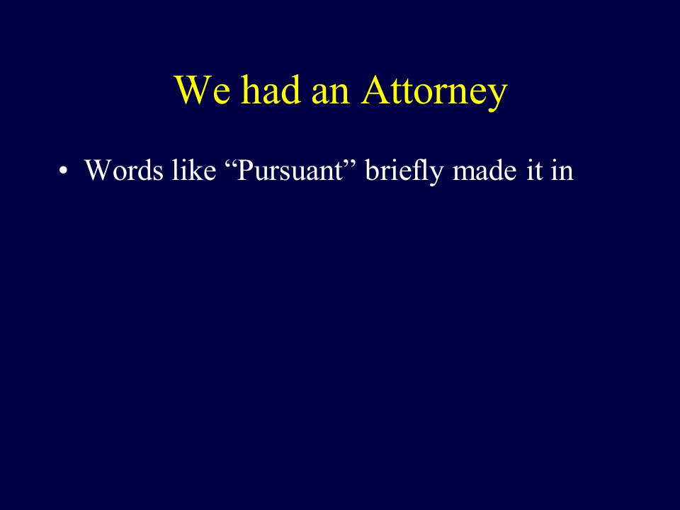 Disclaimer With regard to the ATTORNEY (hereby defined as : the only person in the room with J.D.