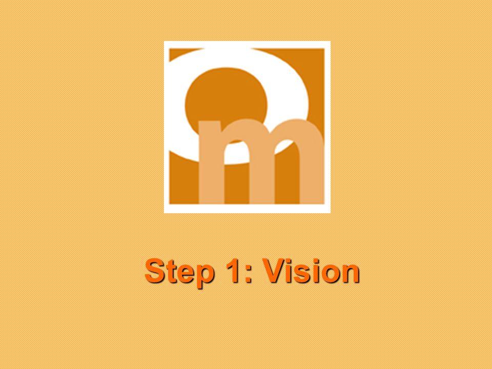 Step 1: Vision