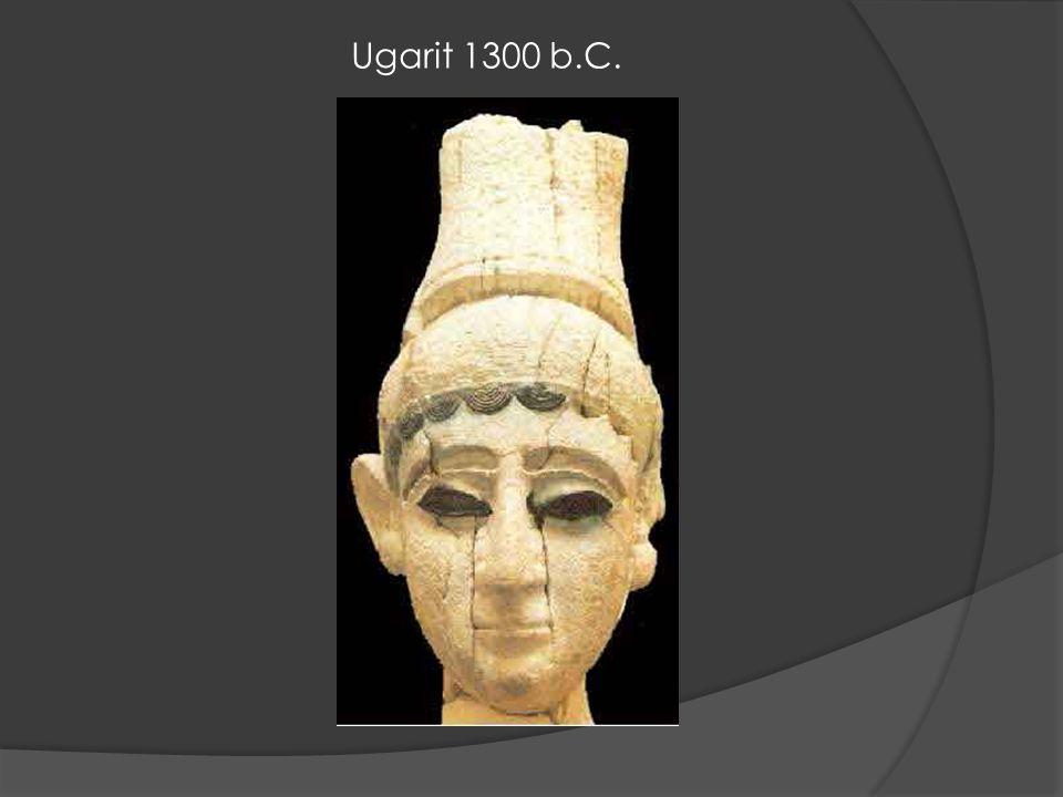Ugarit 1300 b.C.