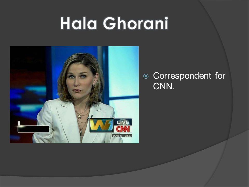 Correspondent for CNN.