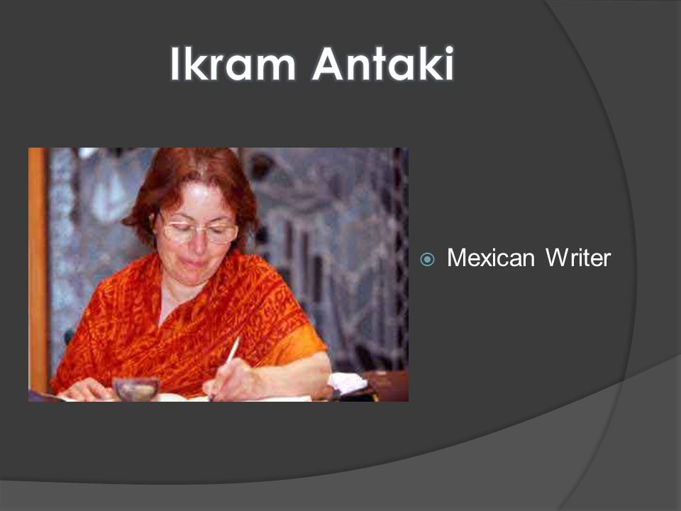 Mexican Writer