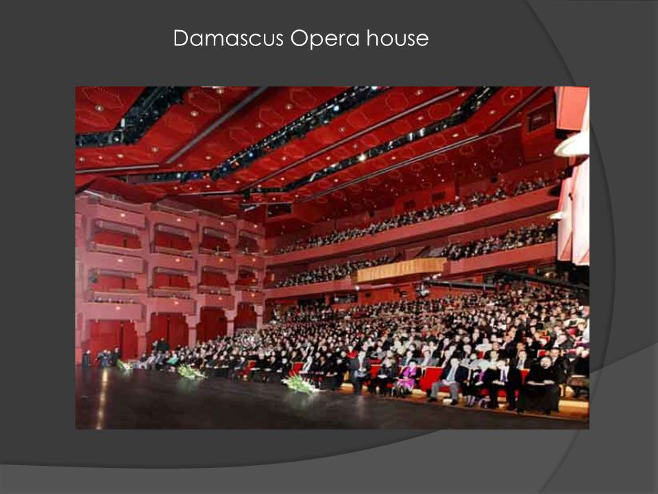 Damascus Opera house
