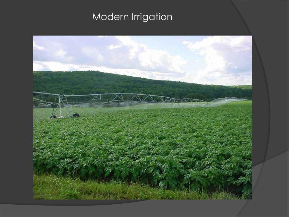 Modern Irrigation