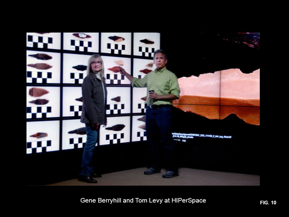 FIG. 10 Gene Berryhill and Tom Levy at HIPerSpace