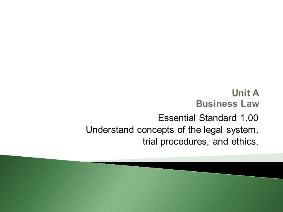 1.03-Understand Criminal and Civil Laws