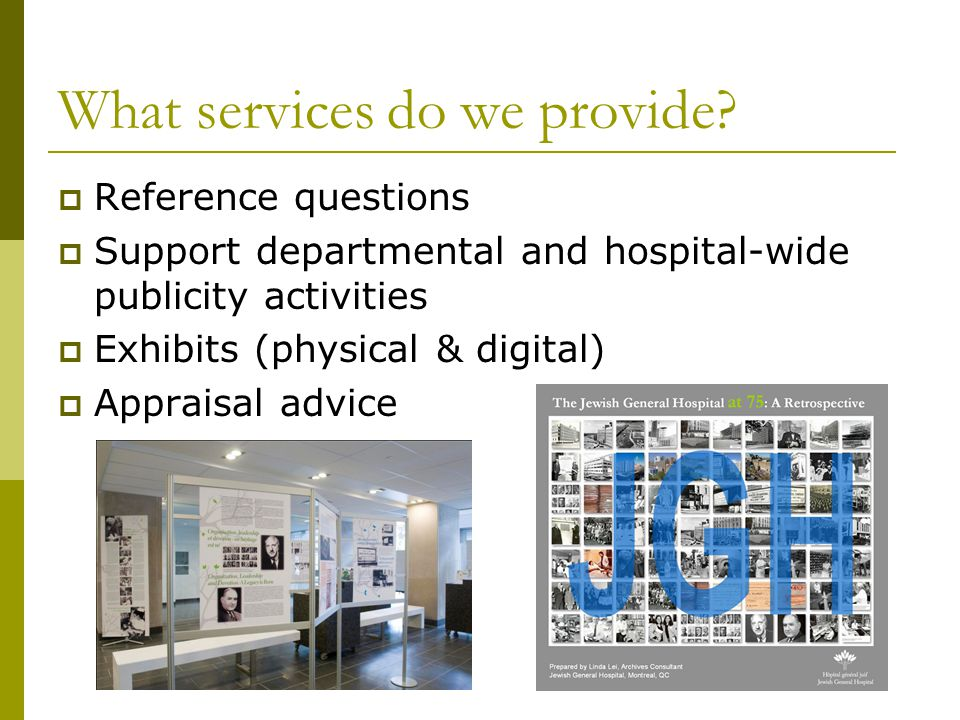 What services do we provide.