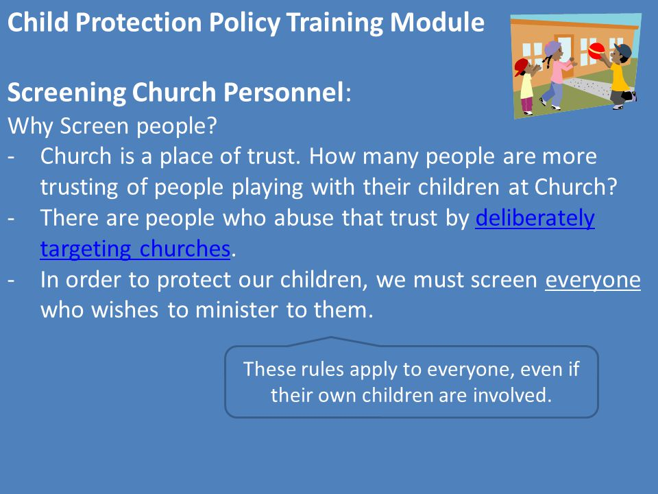 Child Protection Policy Training Module Congratulations.