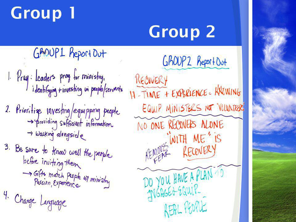Group 1 Group 2