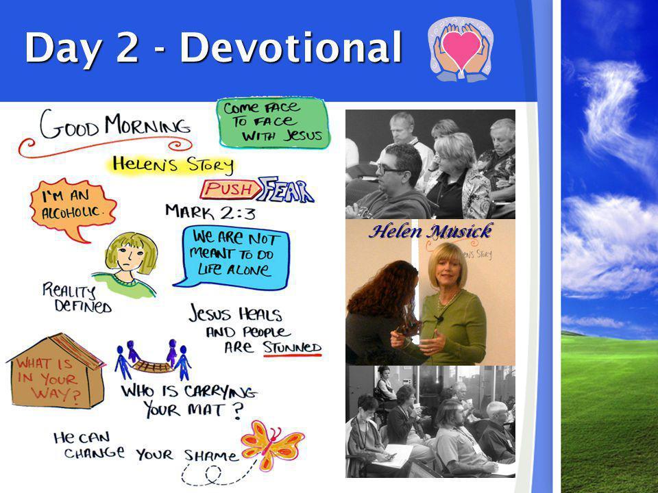 Day 2 - Devotional Helen Musick
