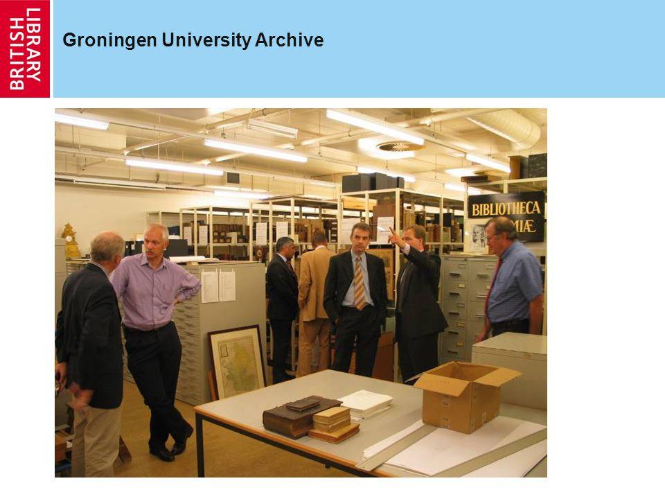 Groningen University Archive