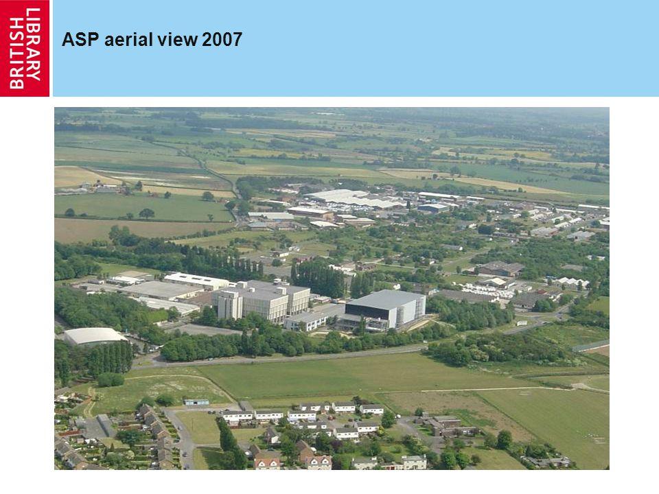 ASP aerial view 2007