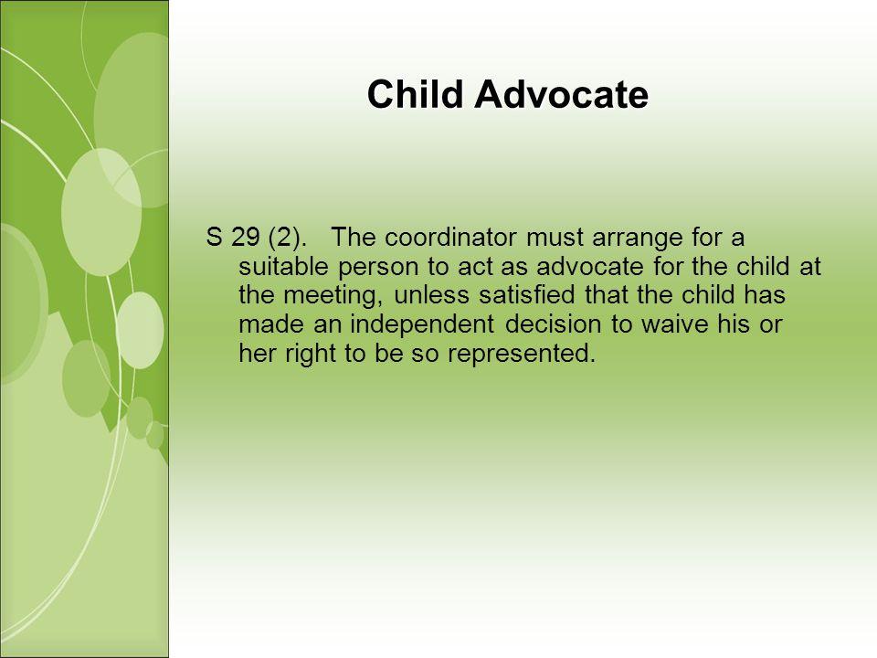 Child Advocate S 29 (2).