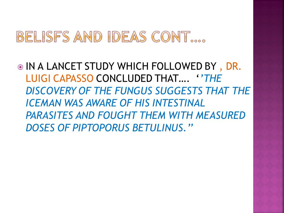 IN A LANCET STUDY WHICH FOLLOWED BY, DR. LUIGI CAPASSO CONCLUDED THAT….