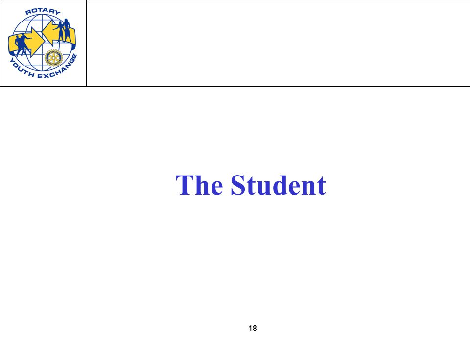 18 The Student