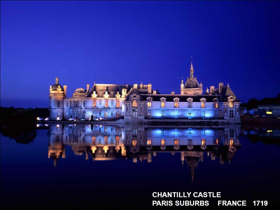 CHAMBORD CASTLE LOIRE FRANCE 16 th CENTURY