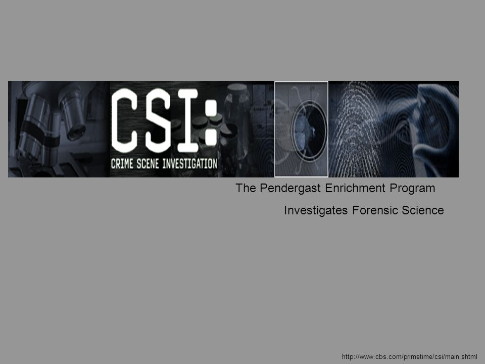 Forensic Science – An Adventure Forensic science is the use of science as it applies to the legal system and as science is used to solve crimes.