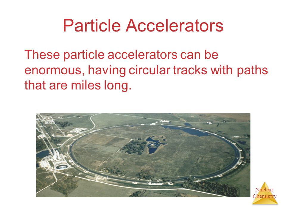 Nuclear Chemistry Nuclear Fission Nuclear transformations can be induced by accelerating a particle and colliding it with the nuclide.
