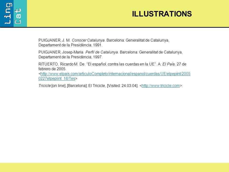 PUIGJANER, J. M. Conocer Catalunya.