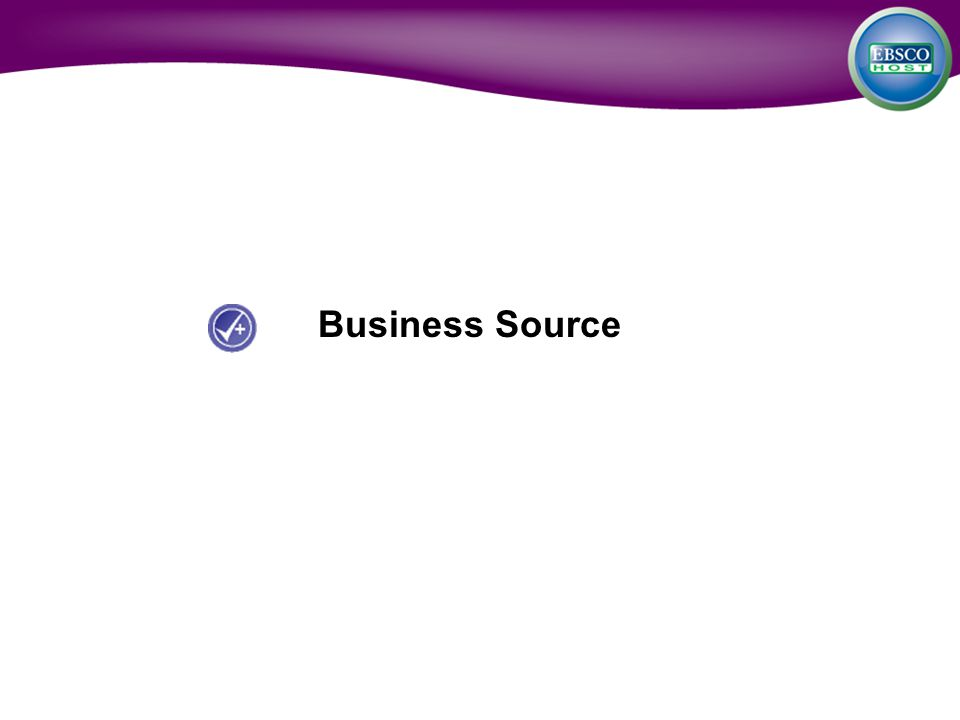 Business Source
