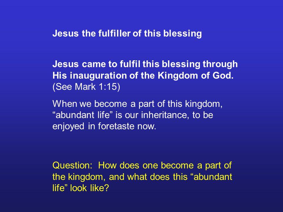 The Gospel - a biblical meta-narrative 9.