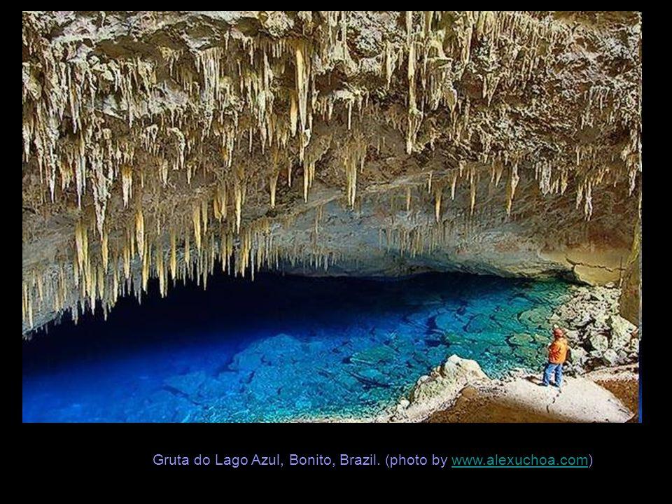 Gruta do Lago Azul, Bonito, Brazil. (photo by www.alexuchoa.com)www.alexuchoa.com