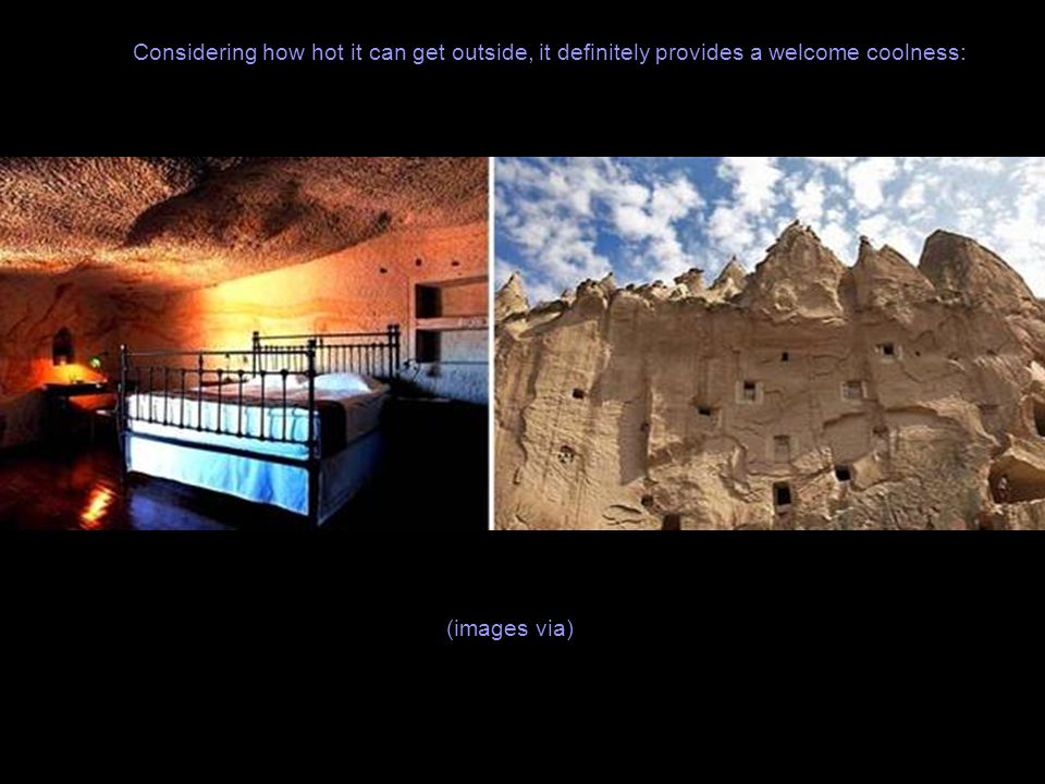 We wrote about Cappadocia cave city in Turkey before.