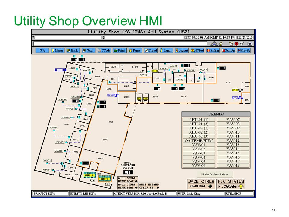 28 Utility Shop Overview HMI