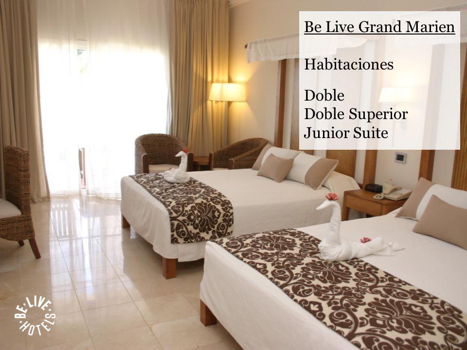 Be Live Grand Marien Habitaciones Doble Doble Superior Junior Suite