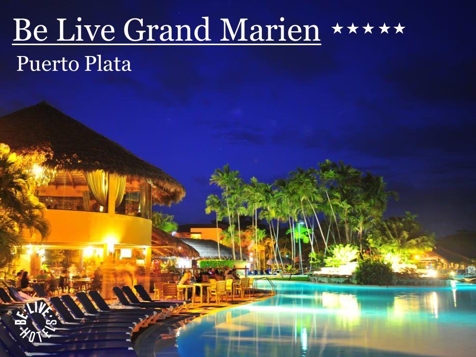 Be Live Punta Cana Be Live Grand Marien 584 Habitaciones 4 Restaurantes 4 Bares 1 Snack Bar Sports Bar Kids Club Spa Casino Discoteca Centro de internet Gimnasio Cancha de tenis Salones de eventos Golf cercano