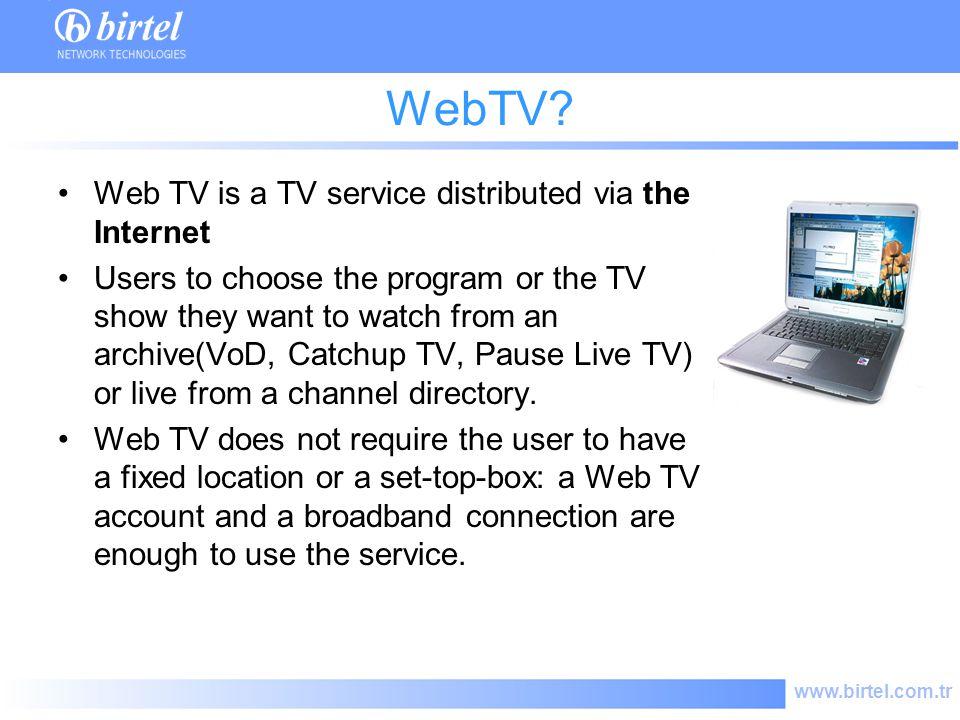 www.birtel.com.tr WebTV.