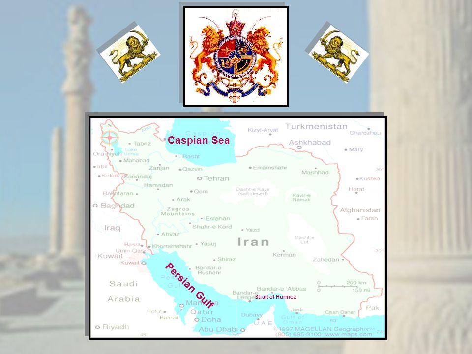 Persian Gulf Caspian Sea Strait of Hurmoz