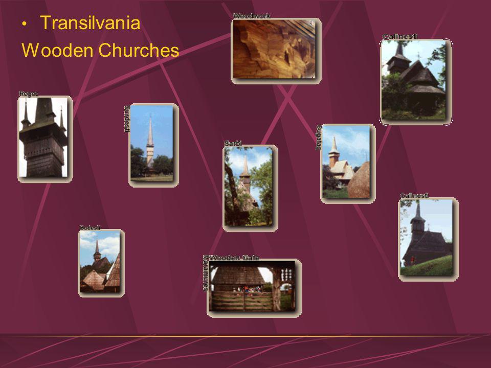 Transilvania Wooden Churches