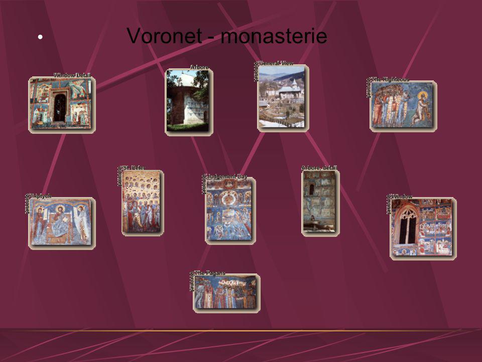 Voronet - monasterie