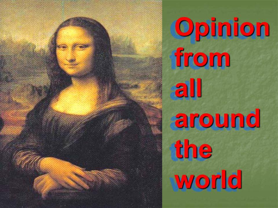 Opinionfromall around the worldOpinionfromall world