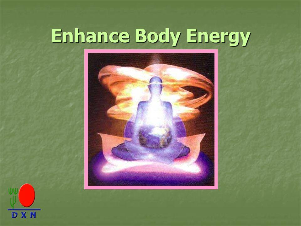 Enhance Body Energy