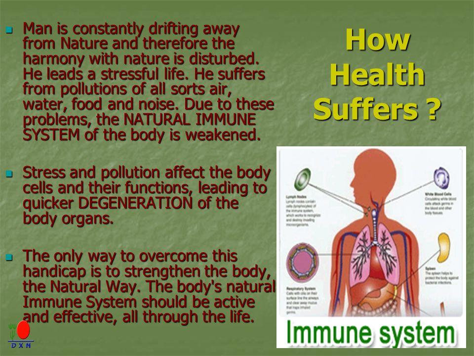How Health Suffers .